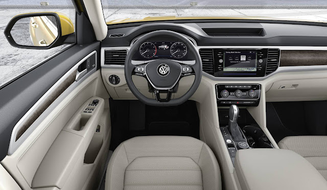 Volkswagen Atlas - SUV- interior