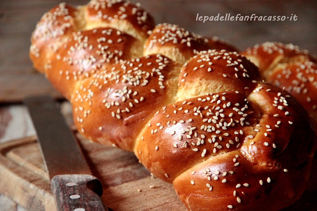 ricetta challah pane ebraico