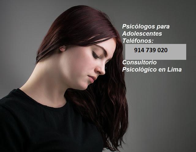 Psicólogos Online en Lima - Psicoterapia para Adolescentes
