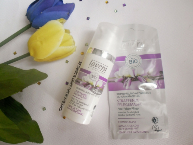 Lavera Karanja Oil & Organic White Tea (Firming Day Cream & Firming Mask) : Review