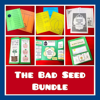 As the new year begins, it's so important to build a positive classroom climate. This post includes lesson suggestions for the beginning weeks. The Bad Seed is a Must Read during the first few days.