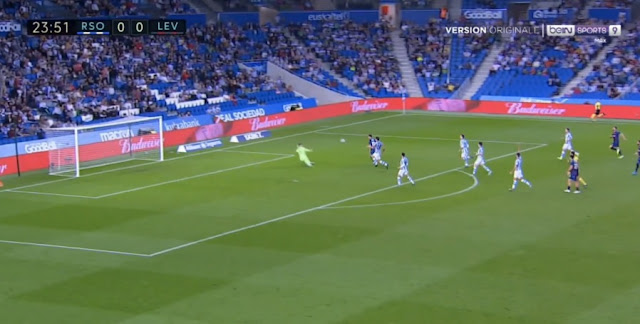 Albanian player Enis Bardhi in the style of Leo Messi - scores a beautiful goal for Levante