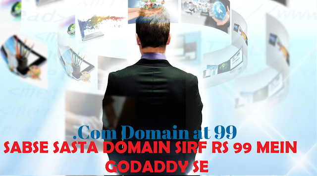 Godaddy 1$ domain Coupon Code