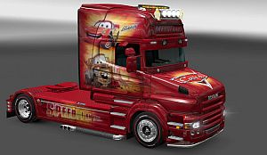 Cars paint job for Scania T