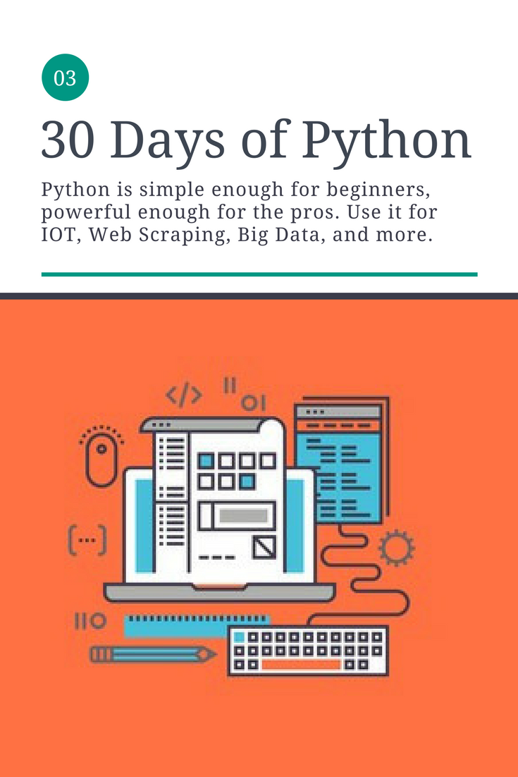30 Days of Python | Unlock your Python Potential