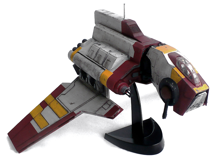 The Great Canadian Model Builders Web Page!: Nu Class