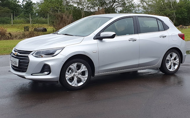 Chevrolet Onix 2020 - carro mais vendido do Brasil