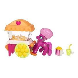 My Little Pony Cheerilee Popcorn Cart Singles Ponyville Figure