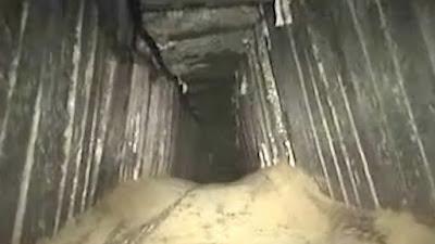 Israel destruíu túnel de ataque de Gaza em fronteiras de Israel e Egito