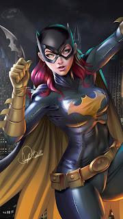 Batgirl Digital Mobile HD Wallpaper