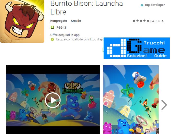 Trucchi  Burrito Bison: Launcha Libre Mod Apk Android v1.05