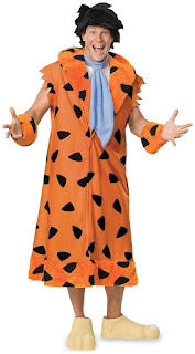 The Flintstones Fred Flintstone Deluxe Adult Costume for Halloween