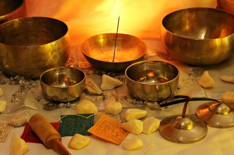 instrumentos musicales para meditación