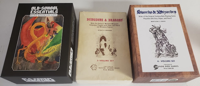 Old School Boxed sets