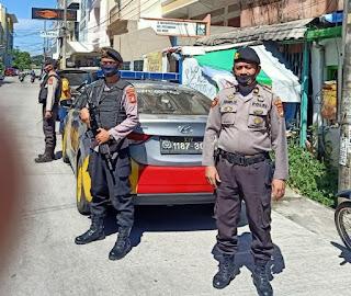 Tekan Jumlah Kejahatan Dimasa Pandemi, Unit Sabhara Polsek Wajo Aktif Patroli