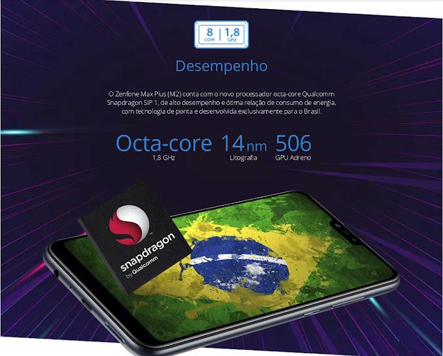 ASUS Zenfone Max Plus M2 Octa Core