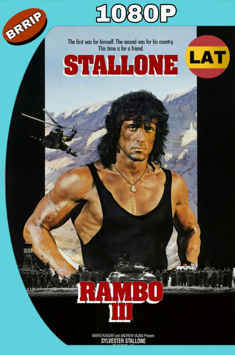 RAMBO III (1988) BRRIP 1080P LATINO-INGLES MKV