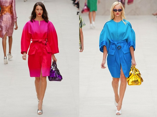 2b772ed1ae0c London Fashion Week  Burberry Shows Corsets and Capes in an ...