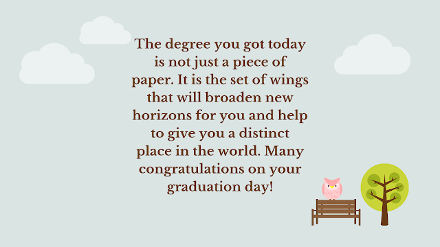 graduation wishes congratulation