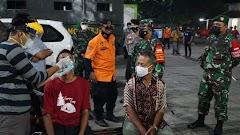 Tekan Lonjakan Kasus Covid, TNI-Polri dan Pemkot Pekalongan Gelar Operasi Yustisi dan Swab Acak
