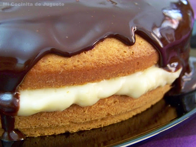 Boston Cream Pie (Pastel de Crema de Boston)