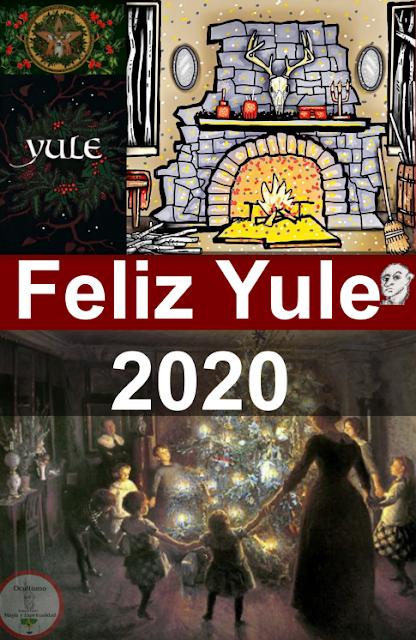 rueda wicca yule 2020