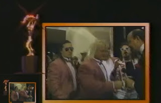 WWF - Slammy Awards 1987 - The Hart Foundation arrive