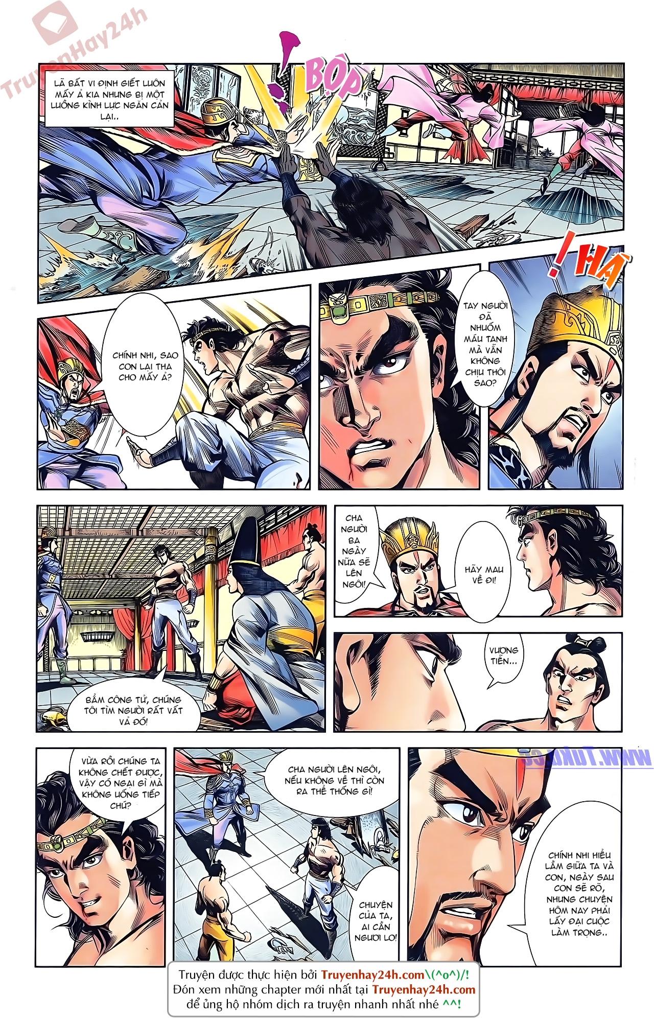 Tần Vương Doanh Chính chapter 43 trang 15
