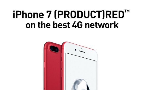 iPhone RED-Smartfren