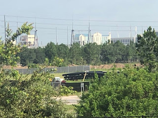 Jurassic Park Coaster Track Arrives on Universal Orlando Property