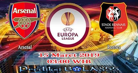Prediksi Bola855 Arsenal vs Rennes 15 Maret 2019