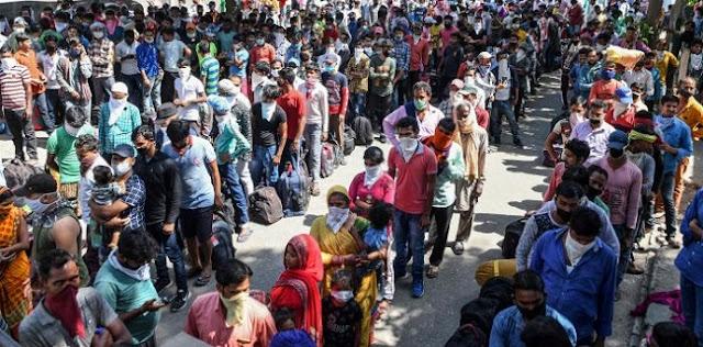 Penelitian: Penyebaran Corona Di India Sebenarnya Sudah Capai 800 Ribu Kasus Per Hari