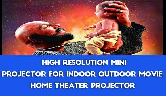 Cool gadget, to convert in your home a movie theatre