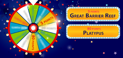 Answer this question to get the points on the wheel! Look at the clue cards and tell us in which country would you find these two things?