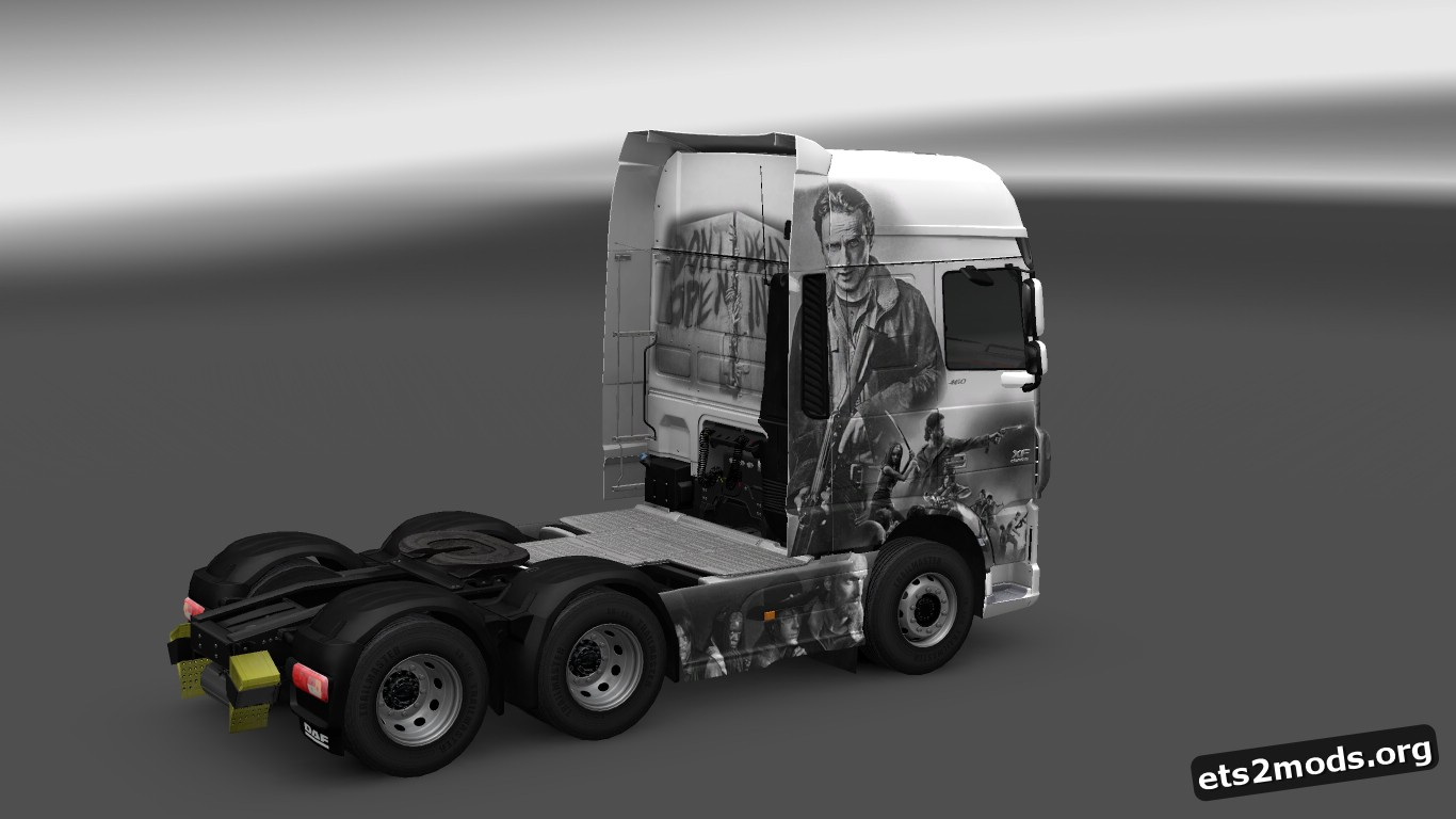 The Walking Dead Skin for DAF EURO 6