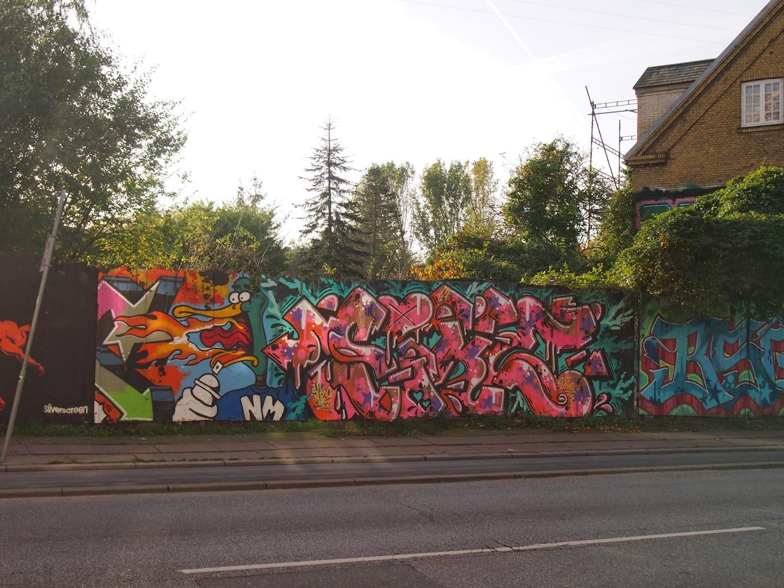 street art near Christiania