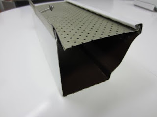 "5"" seamless aluminum eavestrough with AluRex TRex leafguard Toronto"