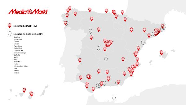 MEDIAMARKT ADQUIRE 17 LOJAS WORTEN EM ESPANHA