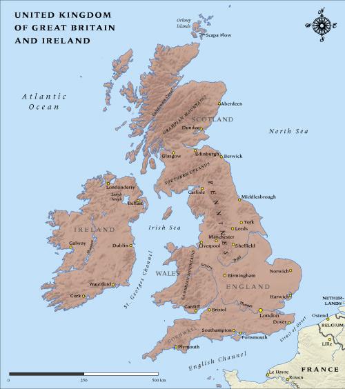 Map Of England 1100.1100 Ireland And England Map World Map