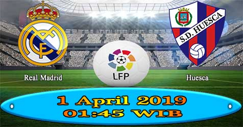 Prediksi Bola855 Real Madrid vs Huesca 1 April 2019