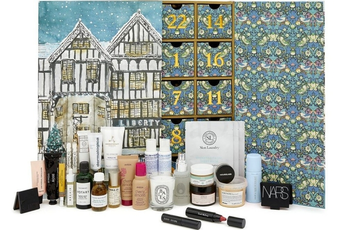 Liberty beauty Advent Calendar 2019 contents and spoilers