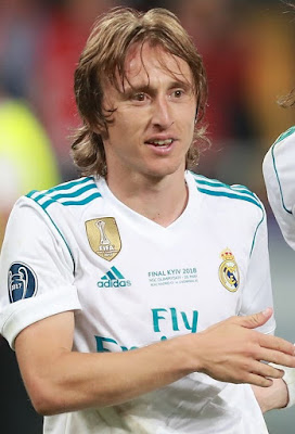 Luka Modric furioso com o Real Madrid