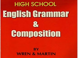 High School Grammar & Composition by Wren and Martin Book pdf