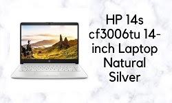 Best HP 14s cf3006tu 14-inch Laptop,  Natural Silver(Core i3-1005G1/4GB/1TB HDD/Windows 10 Home/Intel UHD Graphics)