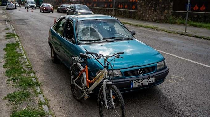 Két kerékpárost gázoltak el Salgótarjánban