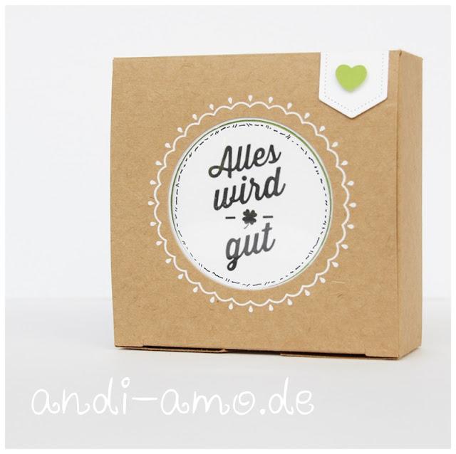 Stampin Up Geschenkboxen mit Zierfenster andi-amo
