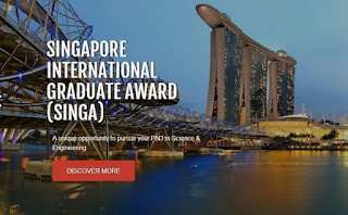 SINGA 2021 PhD Scholarships to Study in Singapore | Fully-Funded