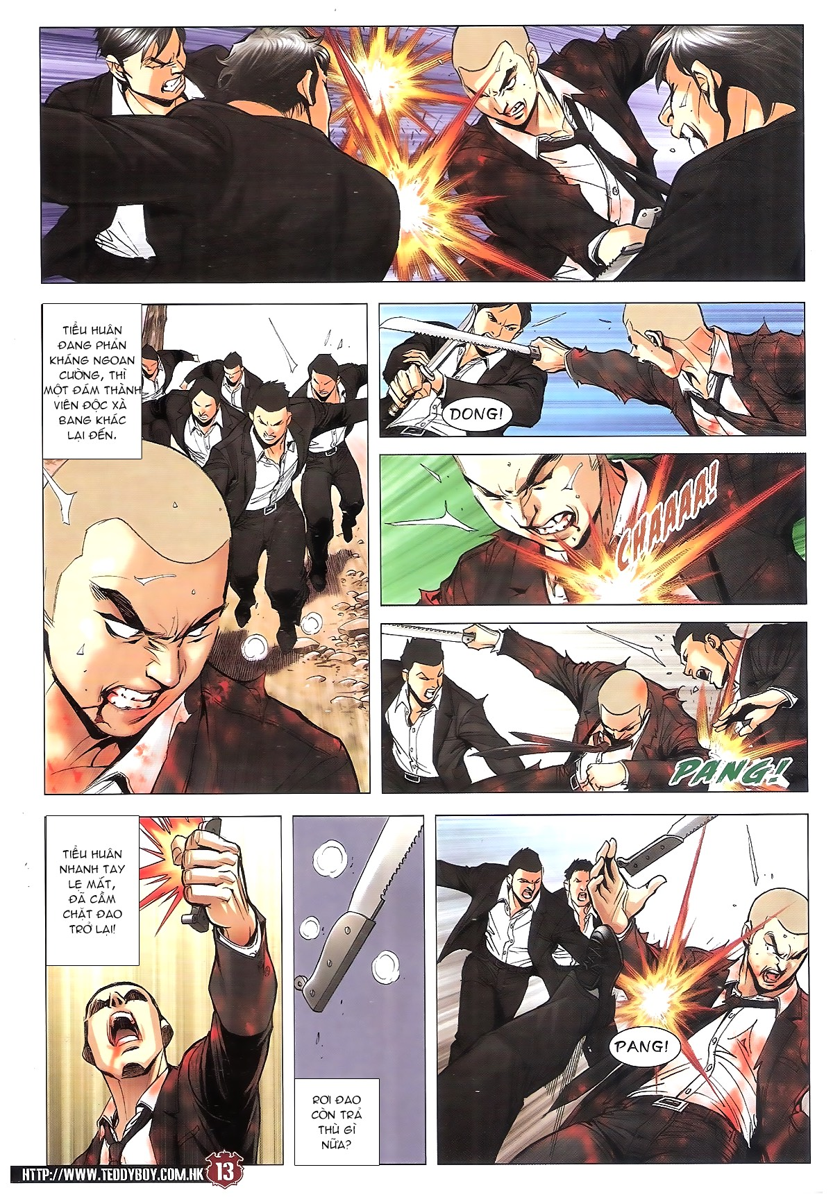 Người Trong Giang Hồ chapter 1805: thiên đao vạn trảm trang 12