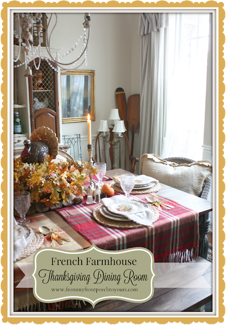 Farmhouse -Thanksgiving- Fall- Dining Room-From My Front Porch To Yours