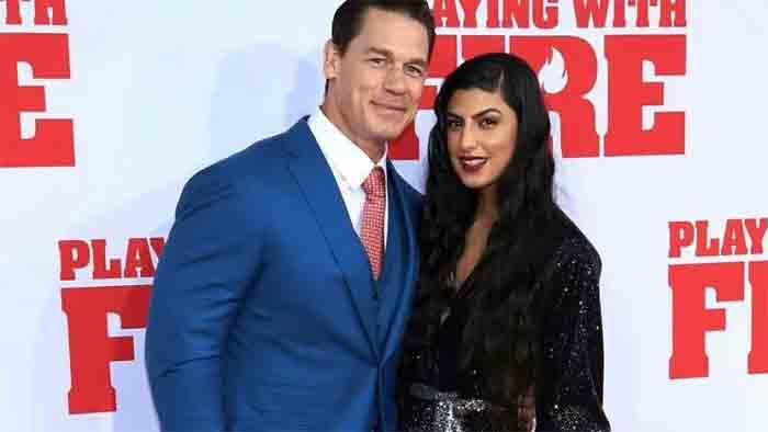 John Cena marries long-time girlfriend Shay Shariatzadeh, America, News, Marriage, Sports, WWE, Family, Media, Application, World